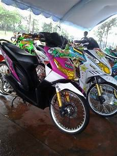 Motor Beat Modifikasi by Modifikasi Motor Honda Beat 2010 Modif Kontes Kumpulan