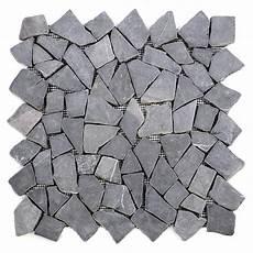 Divero 1 Fliesenmatten Mosaikfliese Bruchstein Marmor