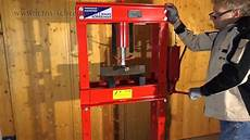hydraulic workshop press bending press 30t hyc30 for