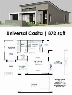 modern one bedroom house plans this 872 square foot 1 bedroom 1 bath house plan is a