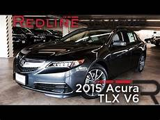 2015 acura tlx v6 redline review youtube