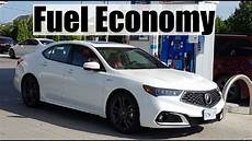 2018 acura tlx fuel economy mpg review fill up costs