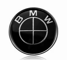 7pcs lot new bmw black emblem logo badge set 82 74mm