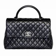 Coco Chanel Tasche - chanel coco handle bag black caviar leather new at 1stdibs