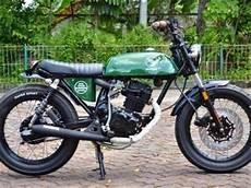 Modifikasi Motor Klasik by Modifikasi Motor Jadul Modifikasi Motor Honda Gl Pro Rasa