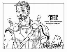 Ironman Malvorlagen Ragnarok Thor Drawing At Getdrawings Free
