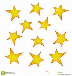 bilder sterne geschilderde sterren stock illustratie illustratie
