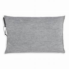 schlafzimmer joly joly kissen 60x40 grau modernes strickkissen knit factory