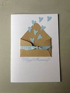 cute idea for an anniversary wedding card craft your