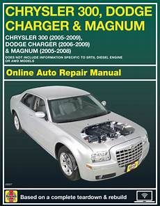 service manuals schematics 2008 dodge magnum user handbook 2008 dodge magnum haynes online repair manual 14 day access ebay