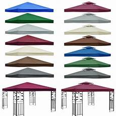 3x3m garden gazebo top cover roof replacement fabric tent canopy 2 tier 1 tier ebay