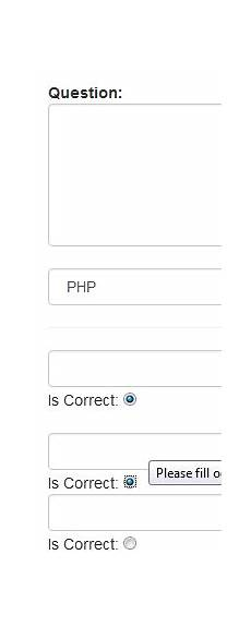 php how to associate radio button value with input field stack overflow