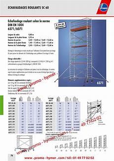 prix montage echafaudage m2 p76 echafaudage roulant 0 80 x 2 95m h 13 6m 6371 6071 catalogue hymer tableau prix pour tous