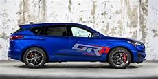 sema graham rahal unveils a powerful 345 horsepower acura rdx a spec
