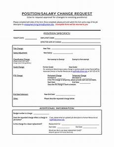 free 4 employee pay increase forms in word pdf