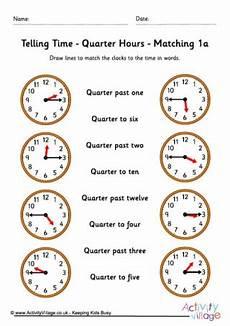 time worksheet quarter to 3155 telling time worksheets quarter hours pack 4