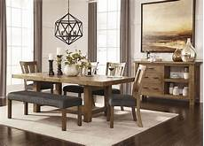 tamilo gray brown rectangular extendable dining room from d714 45 coleman furniture