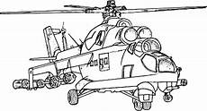 coloring army helicopter picture