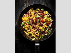 pappardelle with chicken livers   onions_image