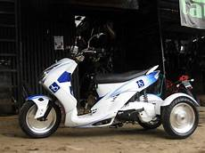 Jual Motor Modifikasi Roda 3 by Motorcycle Modifications Yamaha Mio And Mio Soul
