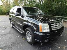 automobile air conditioning repair 2003 cadillac escalade user handbook buy used loaded black 2003 cadillac escalade awd w towing package navigation in cleveland ohio