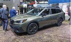 2019 subaru global platform 2019 new york auto show 2020 subaru outback 187 autonxt