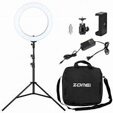 Inch Ring Light With Tripod Stand by Zomei 18 Inch Photographic Led Ring Light 3200k 5500k