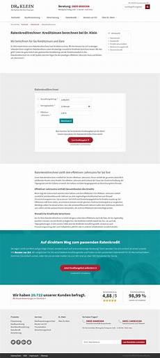dr klein ratenkredit test und erfahrungsberichte 11 2019