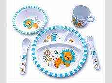 Amazon.com : BAMBOO KIDS Meal Set   Kids Plate Set