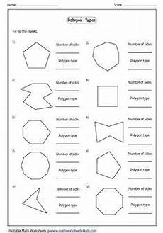 convex and concave shape worksheets identify concave or convex polygon teaching math