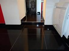 Carrelage Noir Brillant Sol Atwebster Fr Maison Et