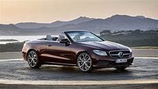 2018 Mercedes E Class Cabriolet Review Top Speed