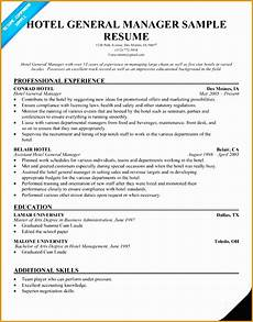7 free hospitality resume template free sles exles format resume curruculum vitae