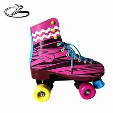 patin a soy pink color soy 4 wheels roller skates for