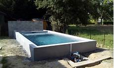 piscine petit prix hors sol chantier mini piscine construction piscine mini piscine