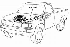 2009 Tacoma Fuel Filter Location by I 1995 T100 Truck I Cannot Locate The Fuel Filter