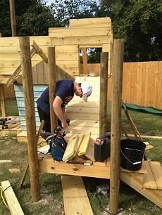 Kinderspielplatz Selber Bauen - kinderspielplatz selber bauen piratenschiff mit schaukel