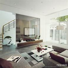 Wohnzimmer Modern - light filled contemporary living rooms