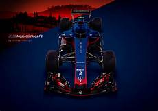 Andwerndesign 2018 Maserati Haas F1