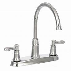 kitchen faucet prices pfister harbor high arc 2 handle standard kitchen faucet in polished chrome f 036 cl4c the