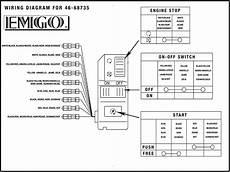 emgo universal handlebar multi switch right 46 68735 wiring diagram
