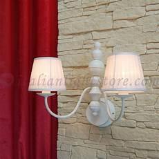 applique shabby shabby lada da parete candelabro bianco shabby