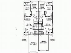 single story duplex house plans one story duplex house plans home building plans 76707