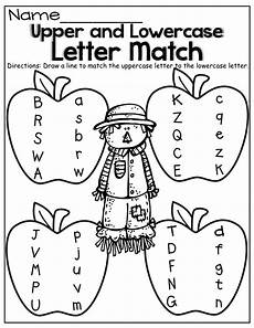 lowercase alphabet worksheets for pre k 23609 and lowercase letter match fall kindergarten kindergarten language arts fall math