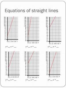 equations of a straight line worksheet by holyheadschool teaching resources tes