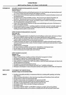 resume database open source open source analyst resume sles velvet