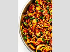 Kung Pao Chicken Noodle Stir Fry   Gimme Some Oven