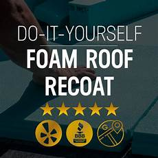 do it yourself diy foam roof recoating state roofing consulting