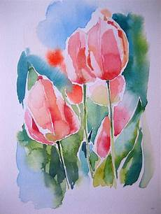 1000 images about watercolour tulips on