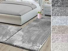 schlafzimmer teppich set 3 teilige velours bettumrandung sundae floordirekt de